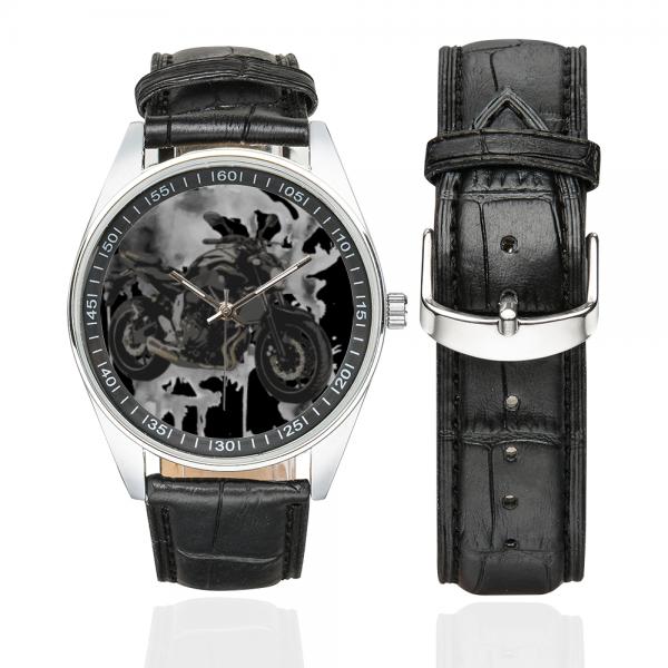 Yamaha MT-07 grey Horloge