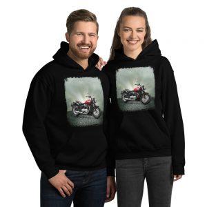 hoodie triumph bonneville