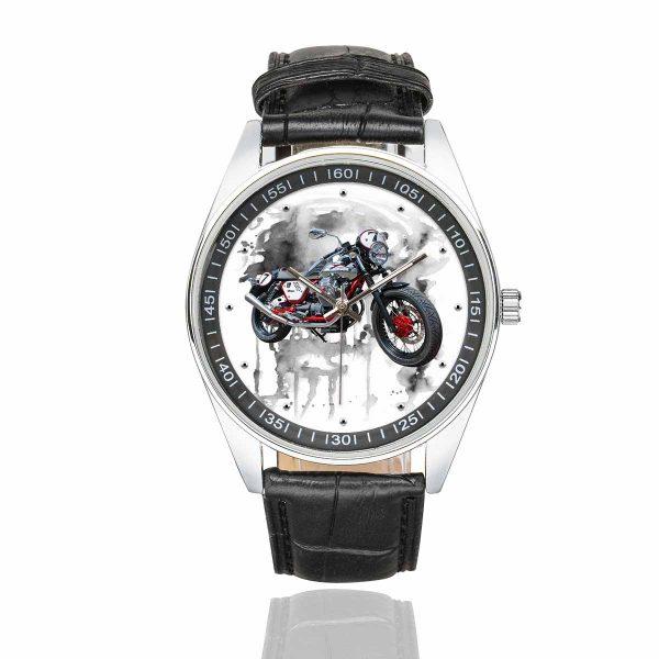 triumph bonneville grey wit watch